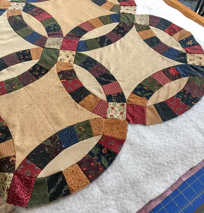 Layer the quilt