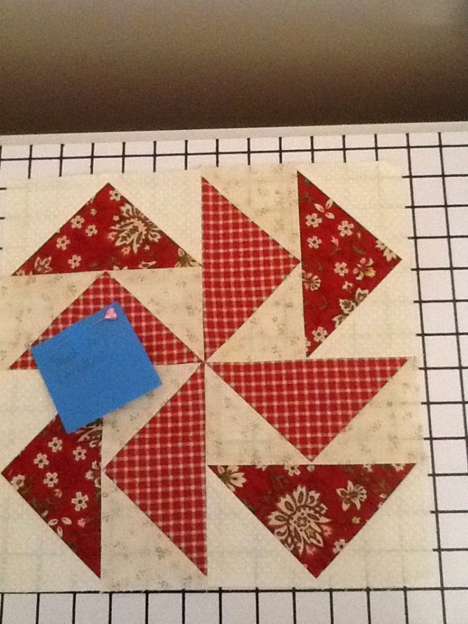 Marching along with quilted birthday blocks | Heaven is Handmaid