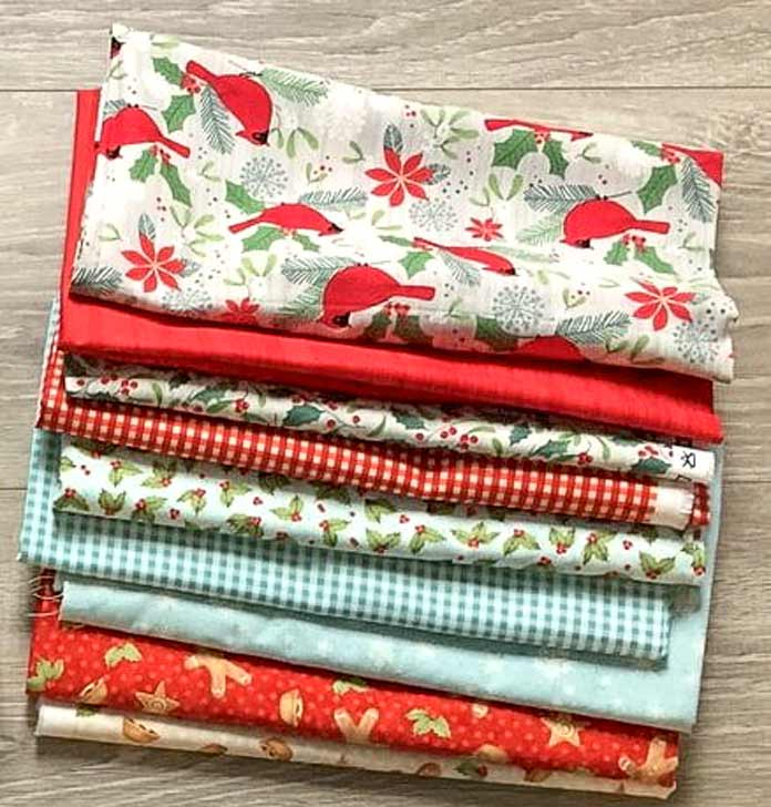 Such gorgeous festive fabric from Northcott's Holiday Collections