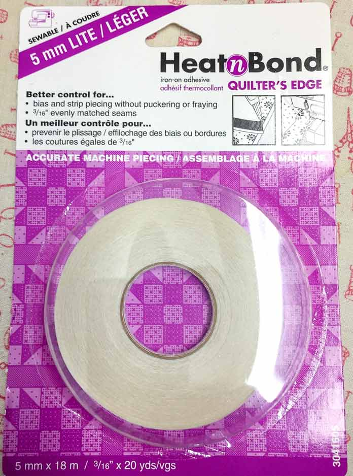 """20 yds of 3/16"""" wide HeatnBond Quilters Edge"""