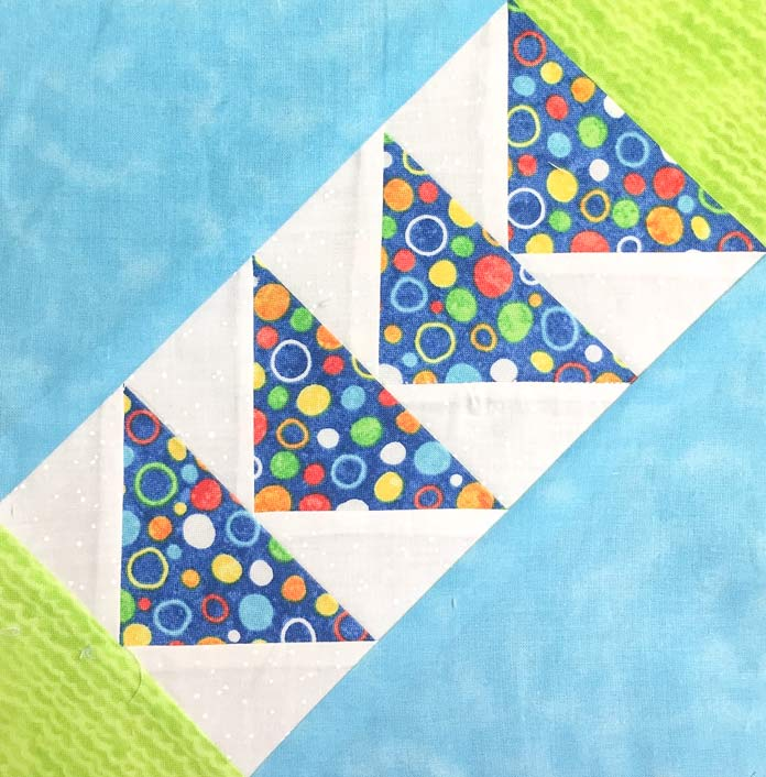 My recent block made with StitchnSew EZ Print Quilt Block Sheets by HeatnBond.