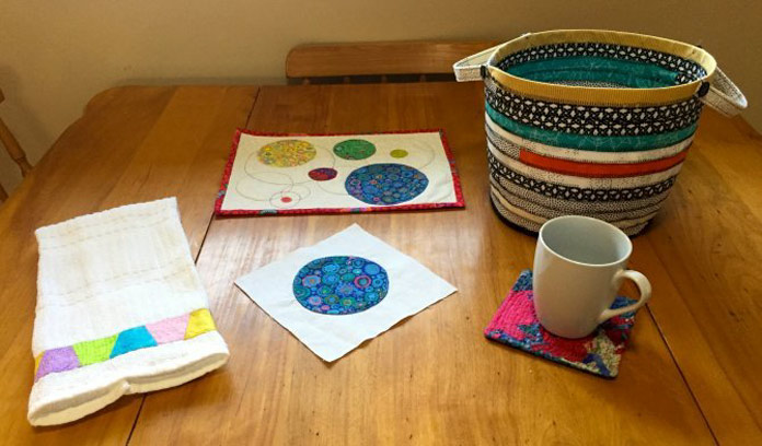 Crafting fun using Sulky stabilizers on QUILTsocial!