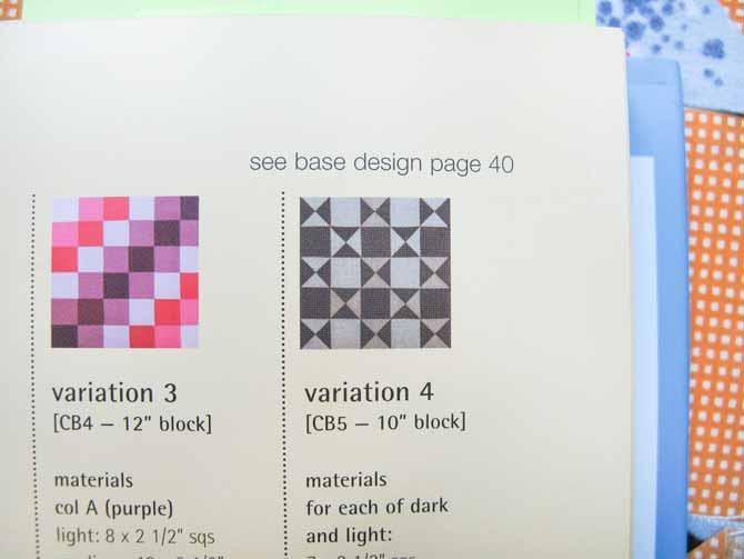Mom's chosen quilt block involving Quarter Square Triangles