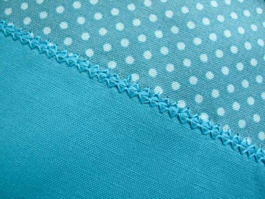 Stitch 3-08 has been completed along the 3rd seam