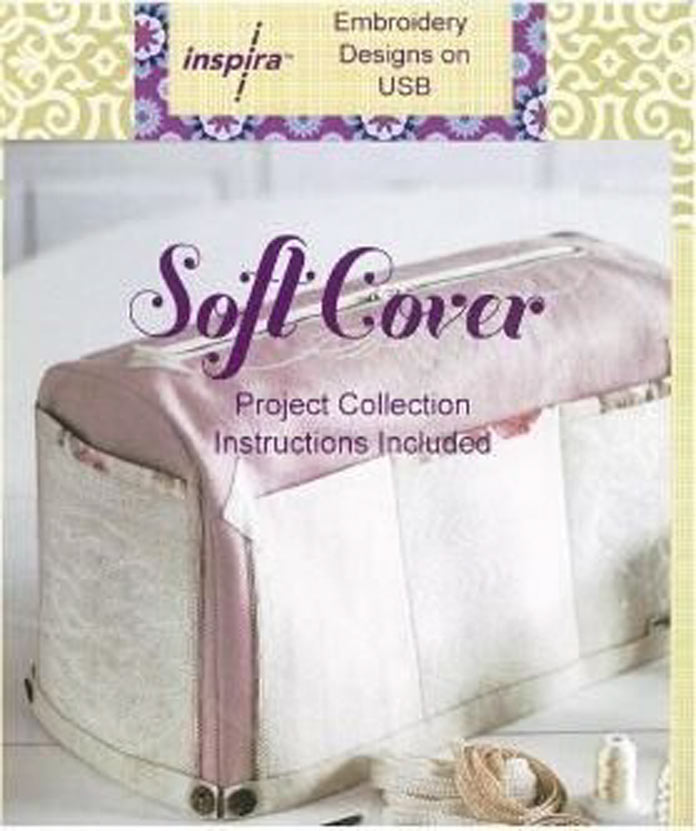 Cover of the Inspira sewing machine cover project
