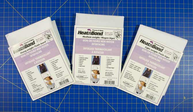 Therm-O-Web non-woven fusible interfacing