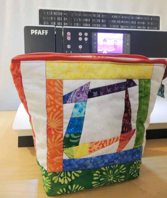 Liberated churn dash side of bag