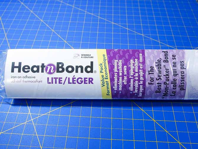HeatnBond Lite fusible web