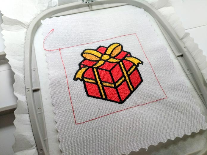 A page of machine embroidery history comes alive in My Design Center