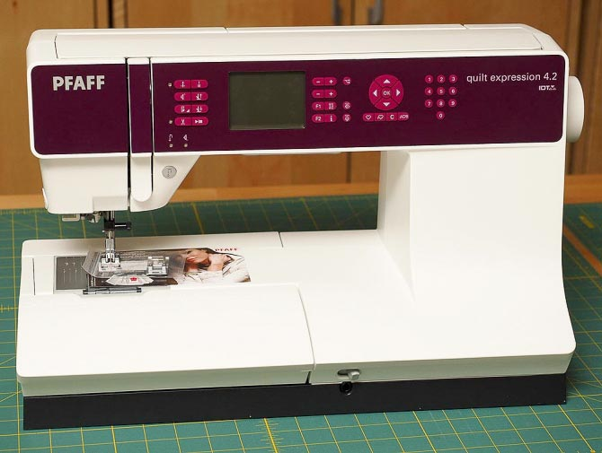 The Expression 4.2 sewing machine from Pfaff