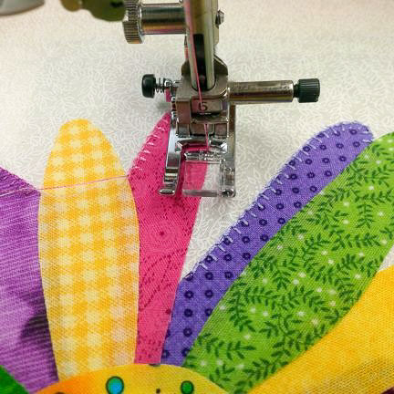 machine applique stitch