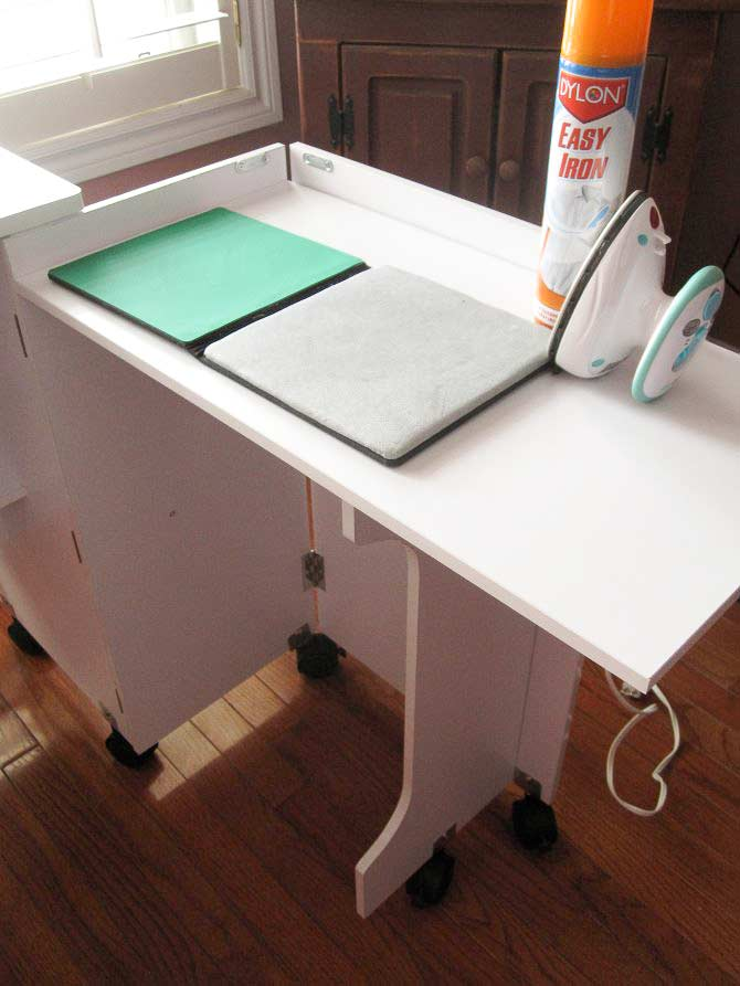 Is it a pressing station or a serger table? It's both!