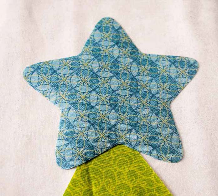 Making the star applique
