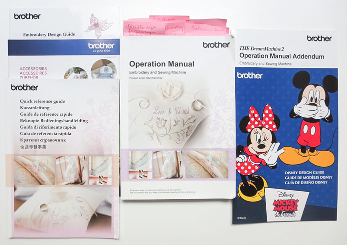 Manuals for THE Dream Machine 2