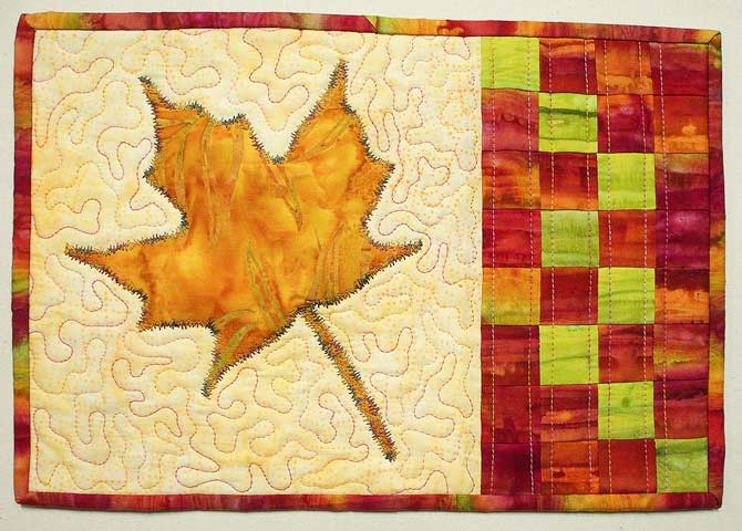 The Maple Leaf Mug Rug