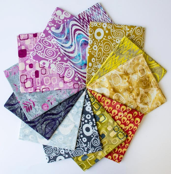 QUILTsocial Giveaway 271: Mod Graphics 12 Fat Quarter Fabric Bundle!