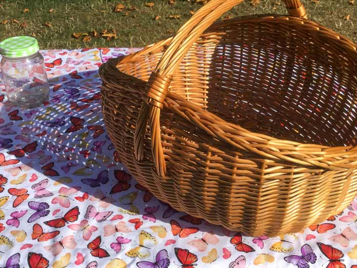 5 days to sewing and quilting a fabulous picnic set