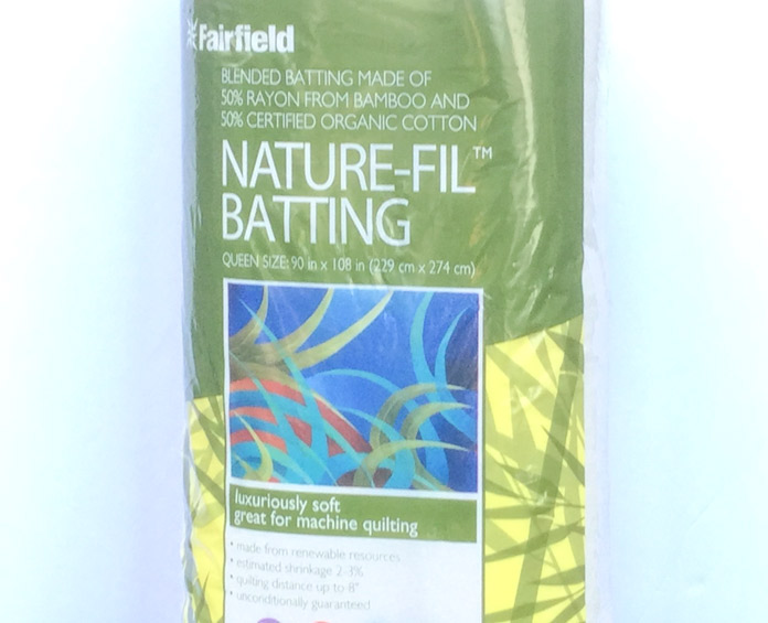 Nature-Fil bamboo blend batting from Fairfield