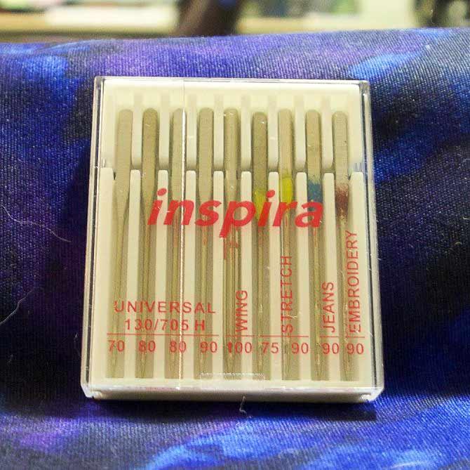 Inspira sewing machine needles