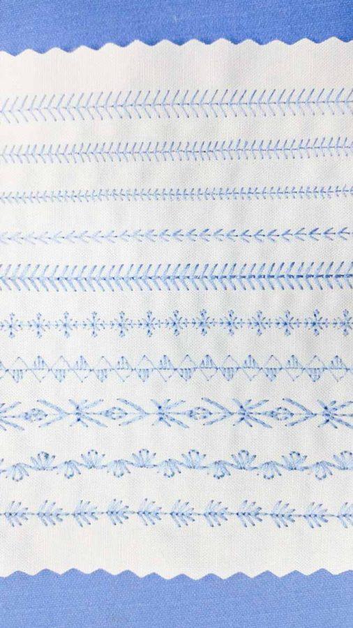 My Custom Stitch™ pattern creations