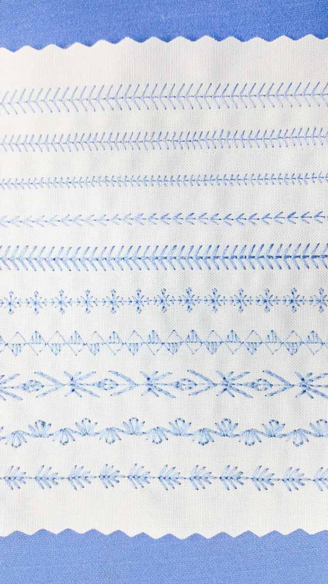 Design Your Own Decorative Stitches With My Custom Stitch