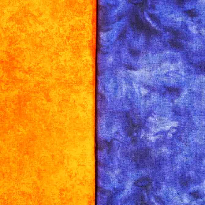 Yellow-Orange & Blue-Purple complementary colors