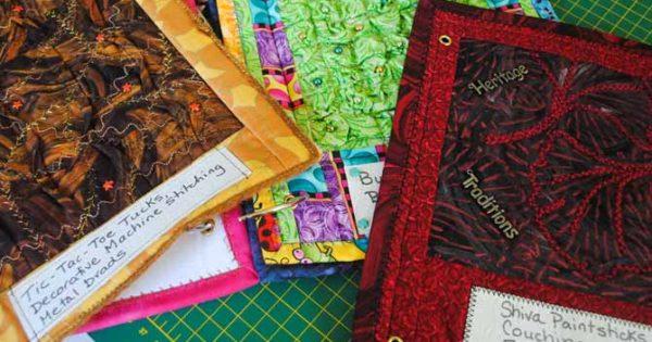 2 Ways To Use Punchneedle Embroidery To Embellish Quilt