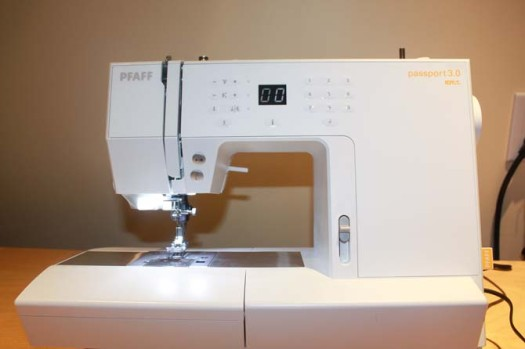 A perfect PFAFF for a perfect quilting week!