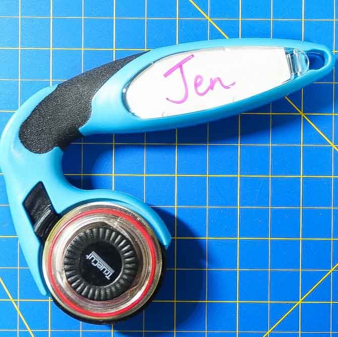 Personalized cutter