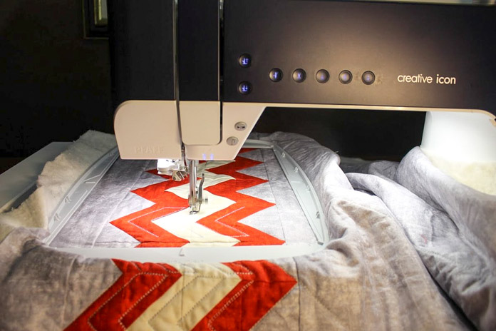 The PFAFF creative icon is your bestie when it's time to quilt a project!