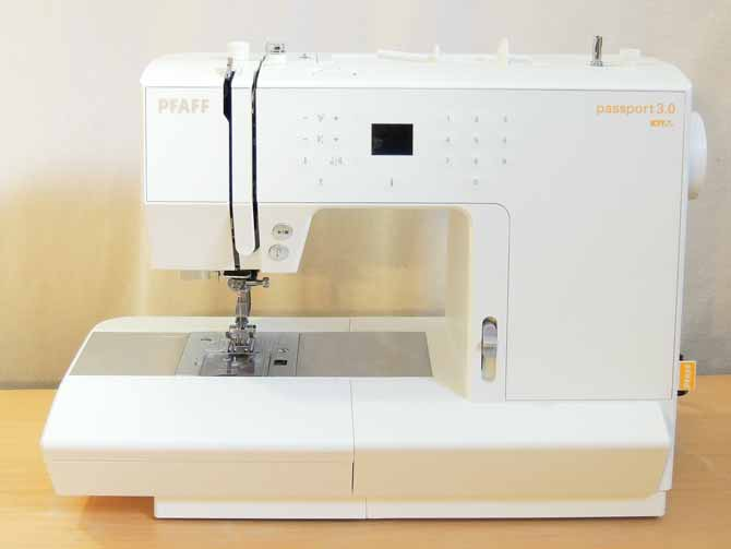 The PFAFF passport 3.0 sewing machine
