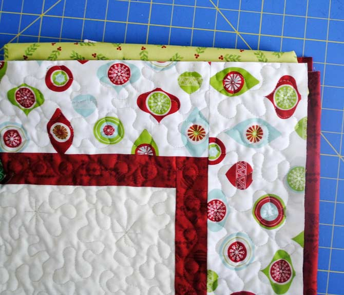 Picking a binding fabric