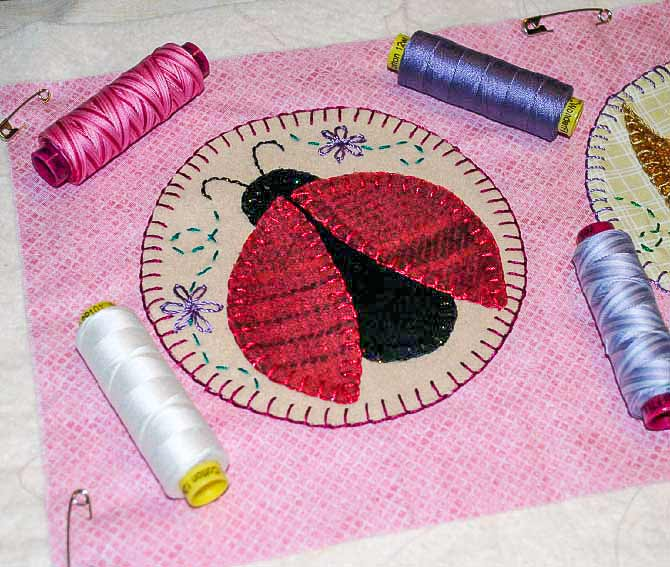 what of thread to use for machine quilting