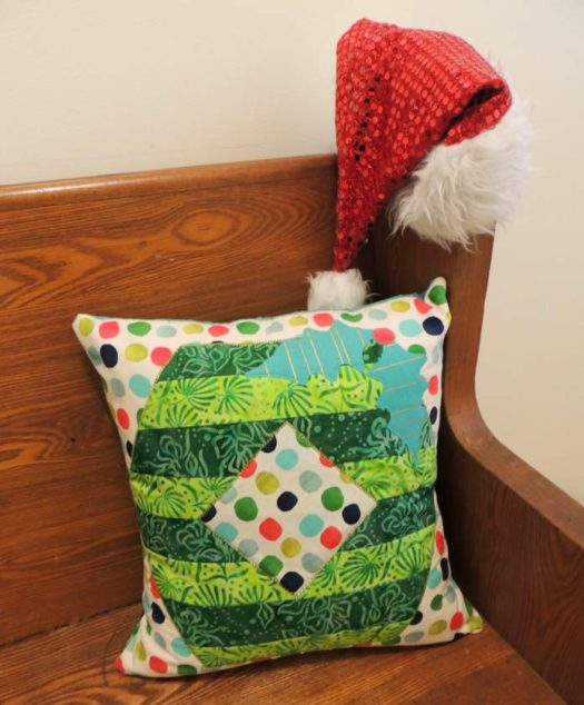 Decking the Halls Cushion Cover