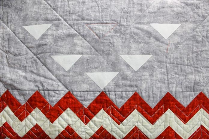 Positioning your quilting designs on your quilt