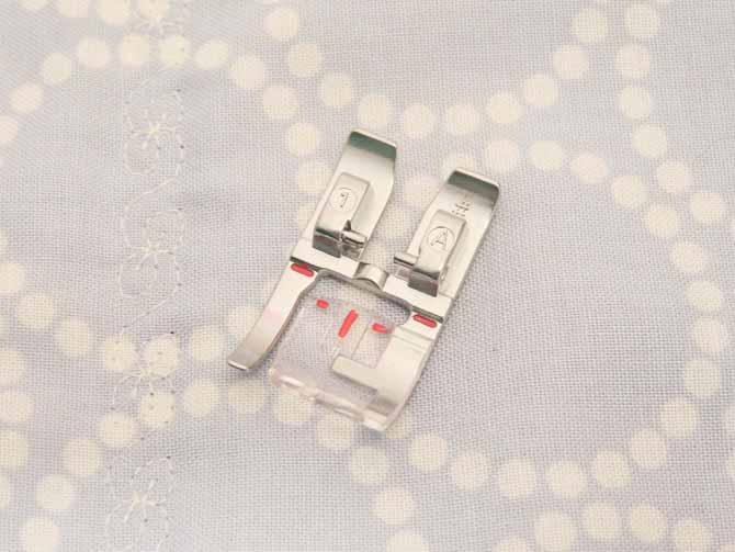 presser foot 1A PFAFF passport 3.0 presser foot