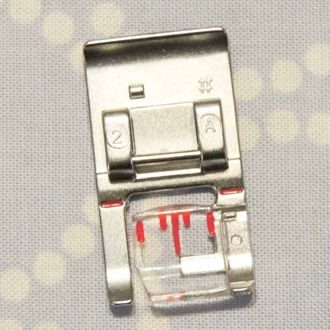 presser foot 2A PFAFF sewing machine presser foot