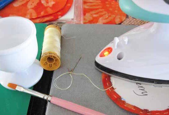 mini iron presses the gathered circles