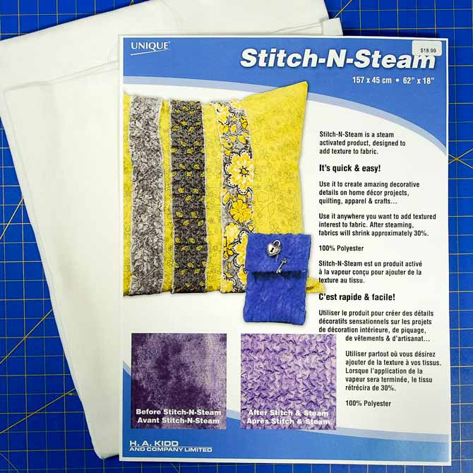Package of Stitch-N-Steam
