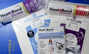 HeatnBond fusible web products