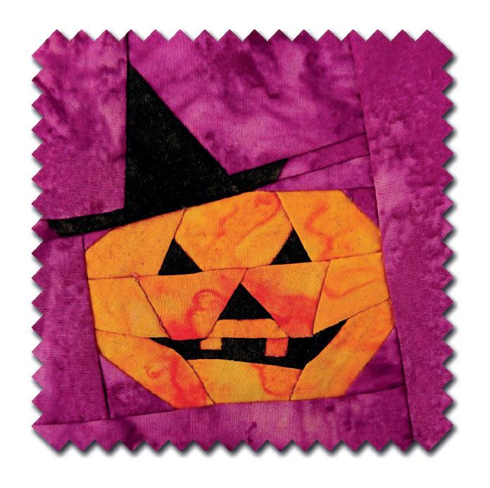 Spooky Pumpkin Block