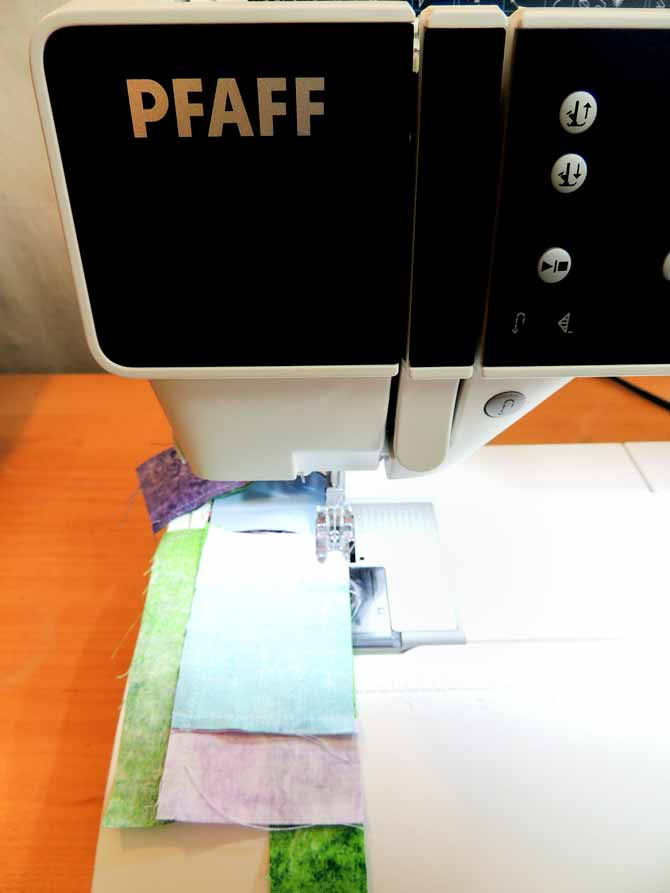 No pins sewing PFAFF Performance 5.2
