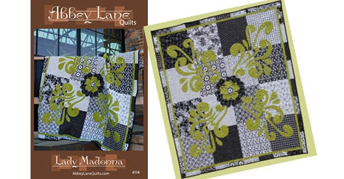 Quilt Pattern Giveaway!! - Lady Madonna by Abbey Lane Quilts