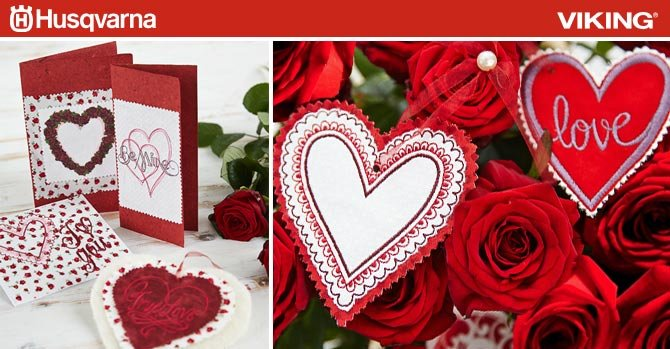 WEEKLY GIVEAWAY 036!  HUSQVARNA VIKING® With all my Heart Embroidery Album