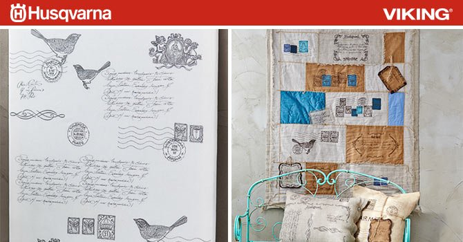 WEEKLY GIVEAWAY! Vintage Postcards Embroidery Album
