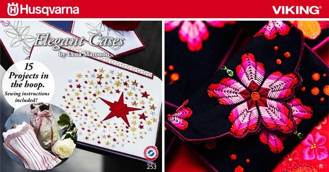 WEEKLY GIVEAWAY! Elegant Cases Embroidery Designs!