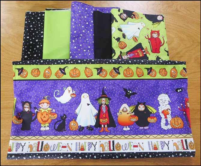 Happy Halloween fabrics by Northcott