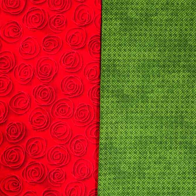 Red & Green complementary colors