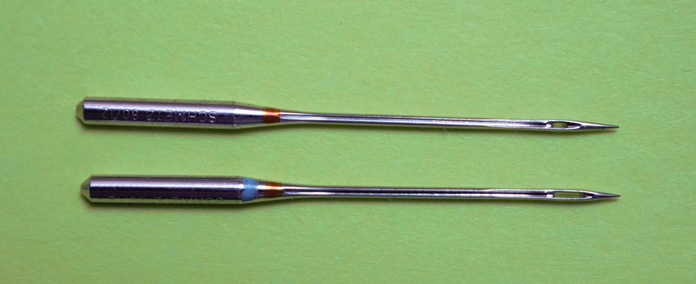 Schmetz universal and topstitch needles