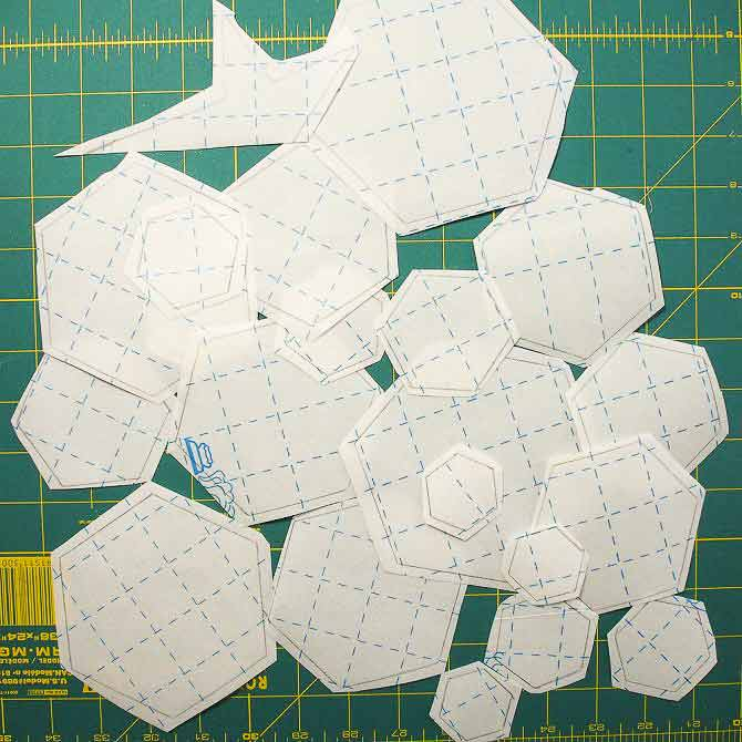 Lots of hexagons